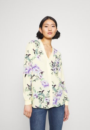 BLOUSE - Blůza - light lemon