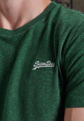 OL VINTAGE EMB  - T-shirt basic - willow green grit