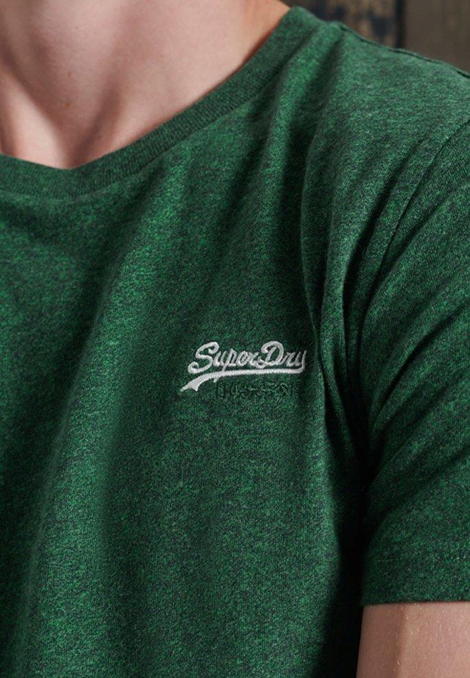 Superdry - OL VINTAGE EMB  - Basic T-shirt - willow green grit