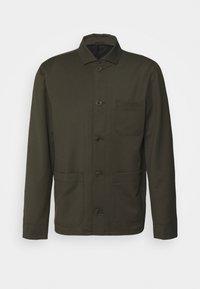 Filippa K - LOUIS GARBADINE - Summer jacket - moss green - 4