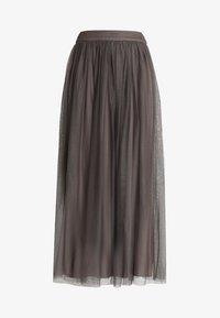 Lace & Beads - MARIKO SKIRT - Maxi sukně - stone - 4