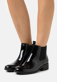 Dorothy Perkins Wide Fit - MAPLE CHELSEA - Ankle boots - black - 0