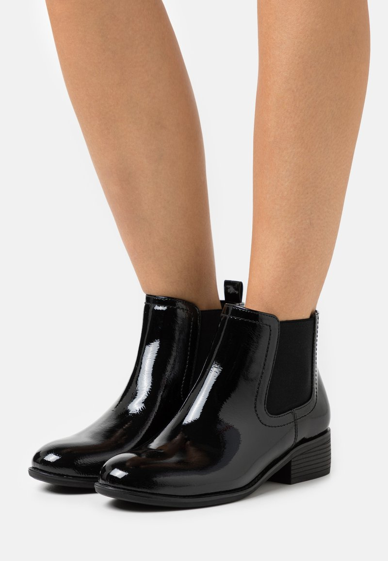 Dorothy Perkins Wide Fit - MAPLE CHELSEA - Ankle boots - black