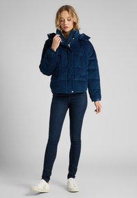 Lee - Winter jacket - washed blue - 1