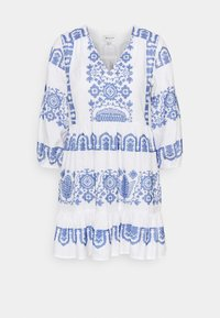 Milly - DEBBIE DRESS - Jurk - white/blue - 0
