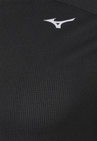 Mizuno - DRYAEROFLOW TEE - Funkční triko - black - 2