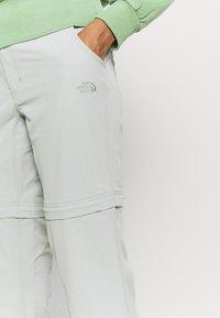 The North Face - EXPLORATION CONVERTIBLE PANT - Pantaloni outdoor - wrought iron - 3