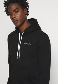 Champion - LEGACY HOODED - Bluza z kapturem - black - 4