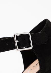 New Look - SNOWZ - Sandales à talons hauts - black - 2