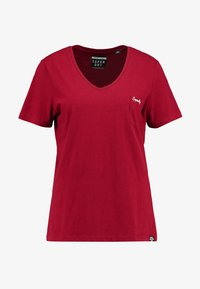 ESSENTIAL TEE - Basic T-shirt - furnace red