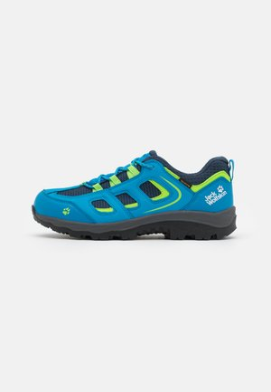 VOJO TEXAPORE LOW UNISEX - Hiking shoes - blue/green