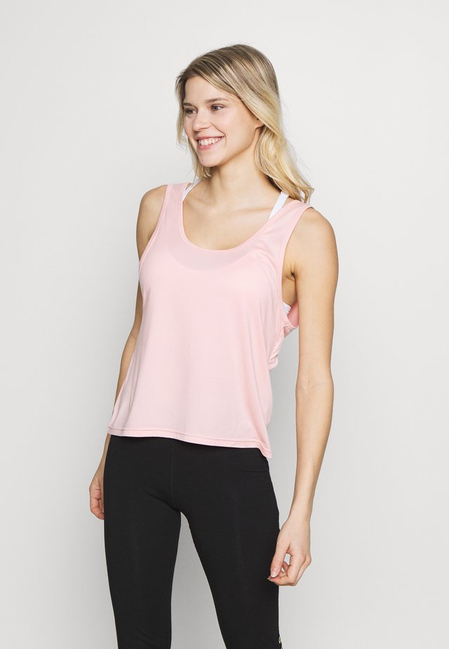 TWIST BACK TANK - Top - cameo pink
