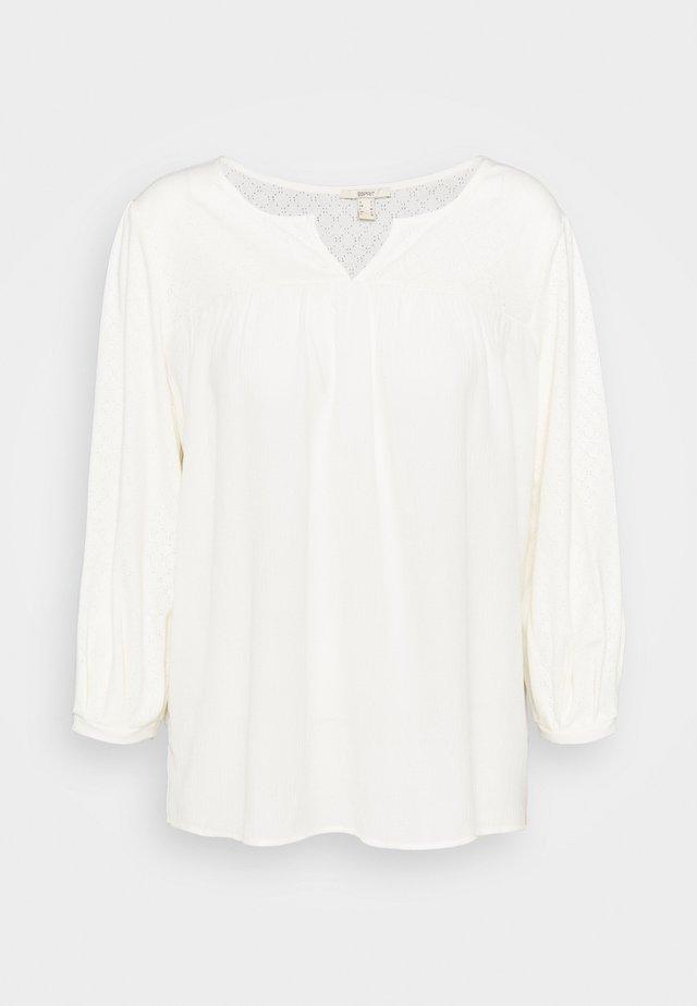 FAB MIX TEE - Bluzka z długim rękawem - ice