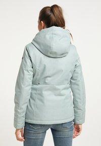 DreiMaster - Winter jacket - rauchmint melange - 2