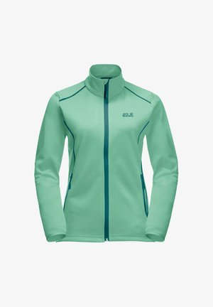 HORIZON - Fleece jacket - pacific green