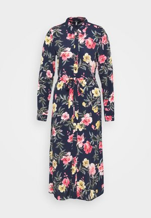 AURELIE - Shirt dress - blue floral