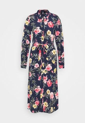 AURELIE - Shirt dress - blue floral