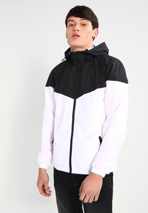 TONE TECH - Veste coupe-vent - black/white