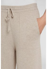 Oui - Trousers - light stone - 3