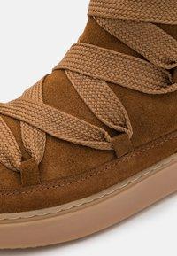 See by Chloé - Kotníkové boty na platformě - light brown - 4