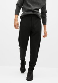 Mango - MARCIANO - Trousers - black - 0
