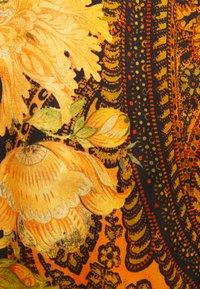 The Kooples - PANTS - Trousers - black/orange - 2