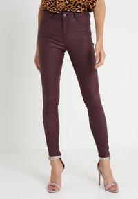 Vila - VICOMMIT  - Jeans Skinny - winetasting - 0