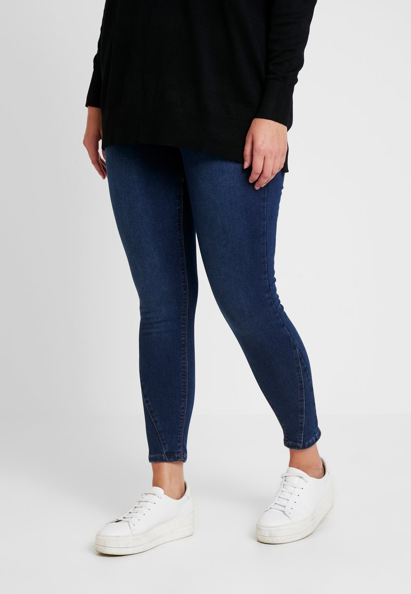 Simply Be - HIGH WAIST SHAPER - Jeans Skinny Fit - indigo