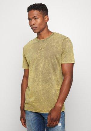 LOGO TEE - Print T-shirt - mermaid green