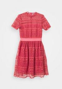 Vila - VINELLY DRESS - Cocktail dress / Party dress - slate rose - 4