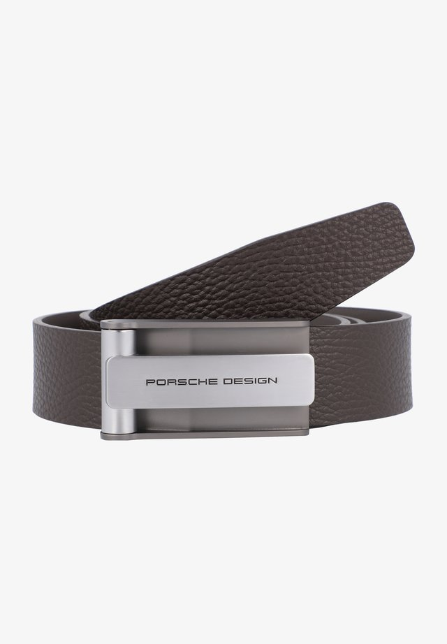 BUSINESS HOOK - Belt - darkbrown