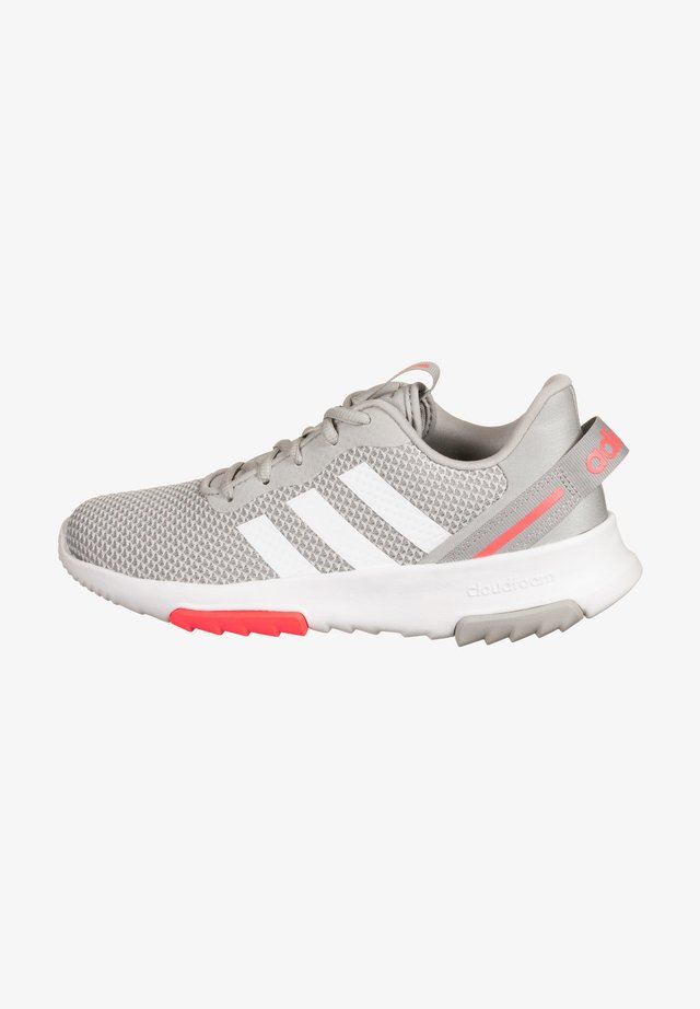 Sports shoes - grey two / footwear white / signal pink