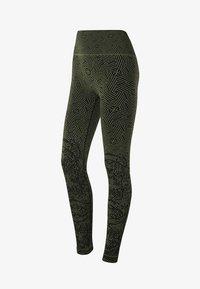 Heart and Soul - REEF - Legging - black military green - 5