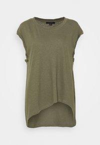 AllSaints - SANZA  - Print T-shirt - utility green - 0
