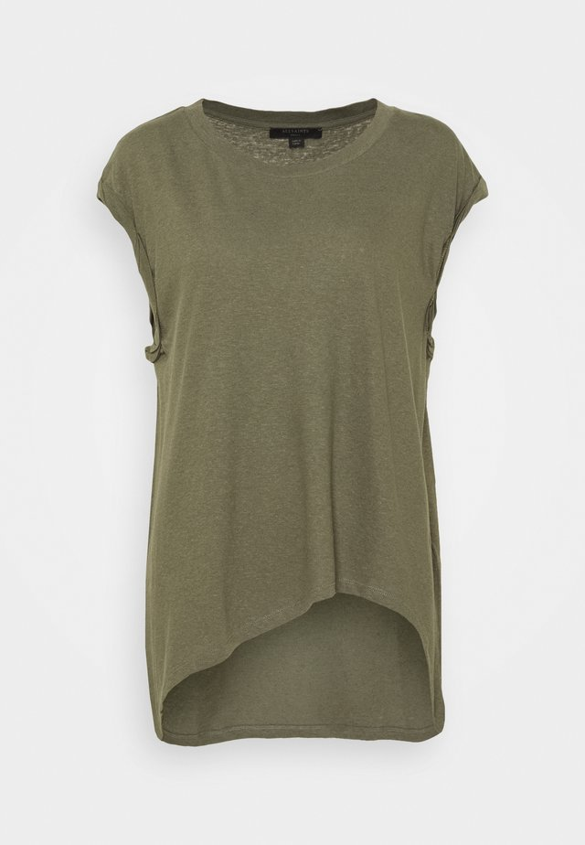 SANZA  - T-shirt print - utility green