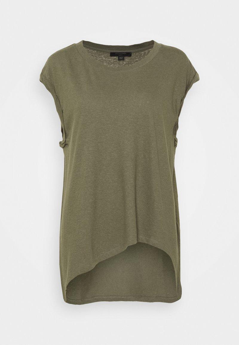 AllSaints - SANZA  - Print T-shirt - utility green