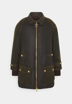 NORWOOD WAX - Short coat - olive classic