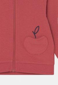 OVS - NEWBORN HOOD - Zip-up sweatshirt - garnet rose - 2