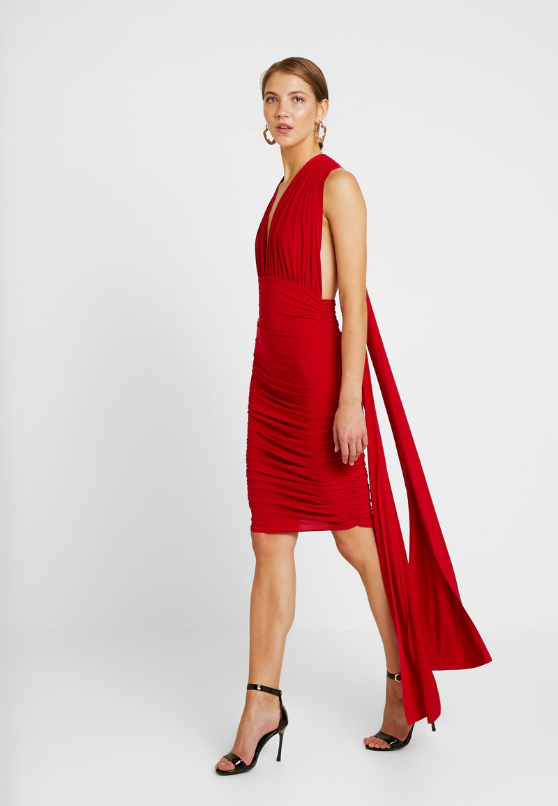 Club L London - Vapaa-ajan mekko - red