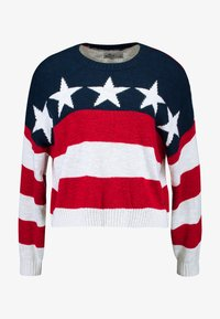 Hollister Co. - AMERICANA - Jumper - red/white/blue - 4
