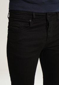 YOURTURN - Straight leg jeans - black denim - 3