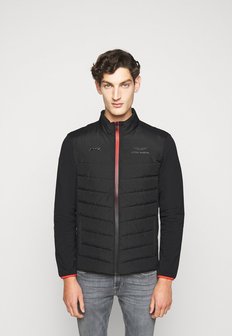 Hackett Aston Martin Racing - AMR FRONT QUILT - Down jacket - black