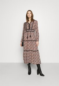 Vero Moda - VMBELLA TIE DRESS - Day dress - ombre blue - 1