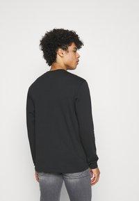 Dickies - CENTRAL TEE - Long sleeved top - black - 2