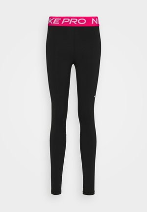 Leggings - black/fireberry/white