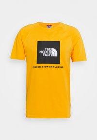 RAGLAN TEE  - T-shirt z nadrukiem - summit gold