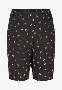 Zizzi - Shorts - black aop - 3