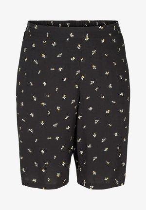 Shorts - black aop