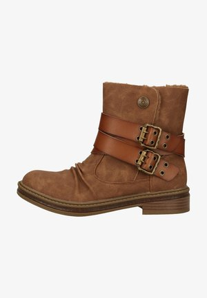Cowboy/biker ankle boot - Whiskey Prospector