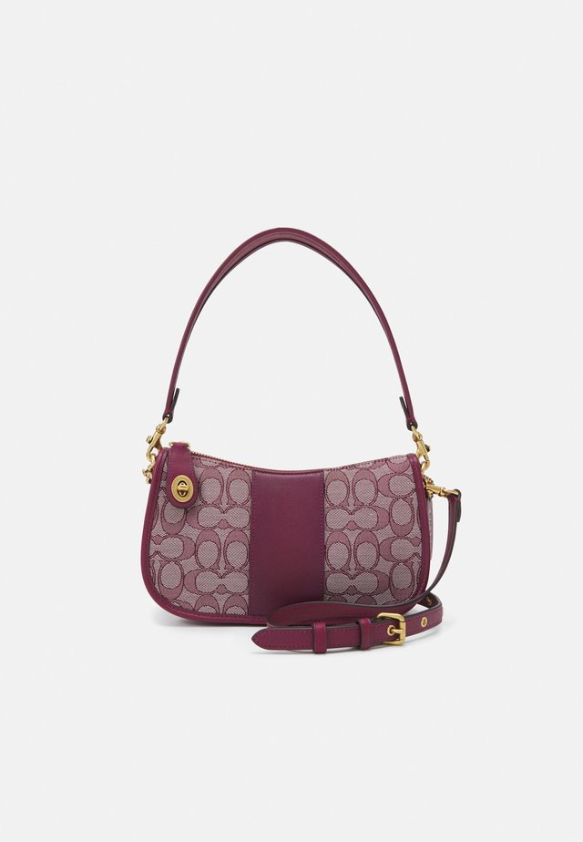 SIGNATURE SWINGER - Handtas - burgundy cherry